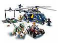 "Конструктор SY 1079 ""Погоня за Блю на вертолёте"" 433 детали. Аналог Lego Jurassic World 75928, фото 4"