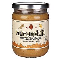 """Арахисовая паста """"кранч"""" Burunduk, 450 г"""