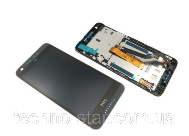 Оригинальный дисплей (модуль) + тачскрин (сенсор) с черной рамкой для HTC Desire 626 626G 626W (черный цвет)