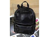 Рюкзак женский кожаный GRAYS черного цвета GR-8835A, фото 1