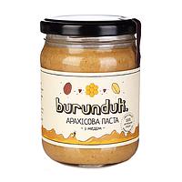 """Арахисовая паста """"с медом"""" Burunduk, 250 г"""