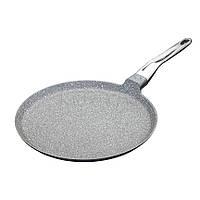 MC CA Сковорода для блинов алюминиевая с антипригарным покрытием 28 см