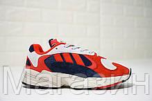 Женские кроссовки Adidas Yung 1 Collegiate Navy Адидас, фото 3