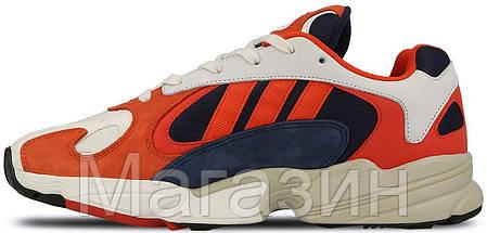 Женские кроссовки Adidas Yung 1 Collegiate Navy Адидас, фото 2