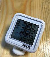 Велокомпьютер KLS REFLEX WL белый, фото 1