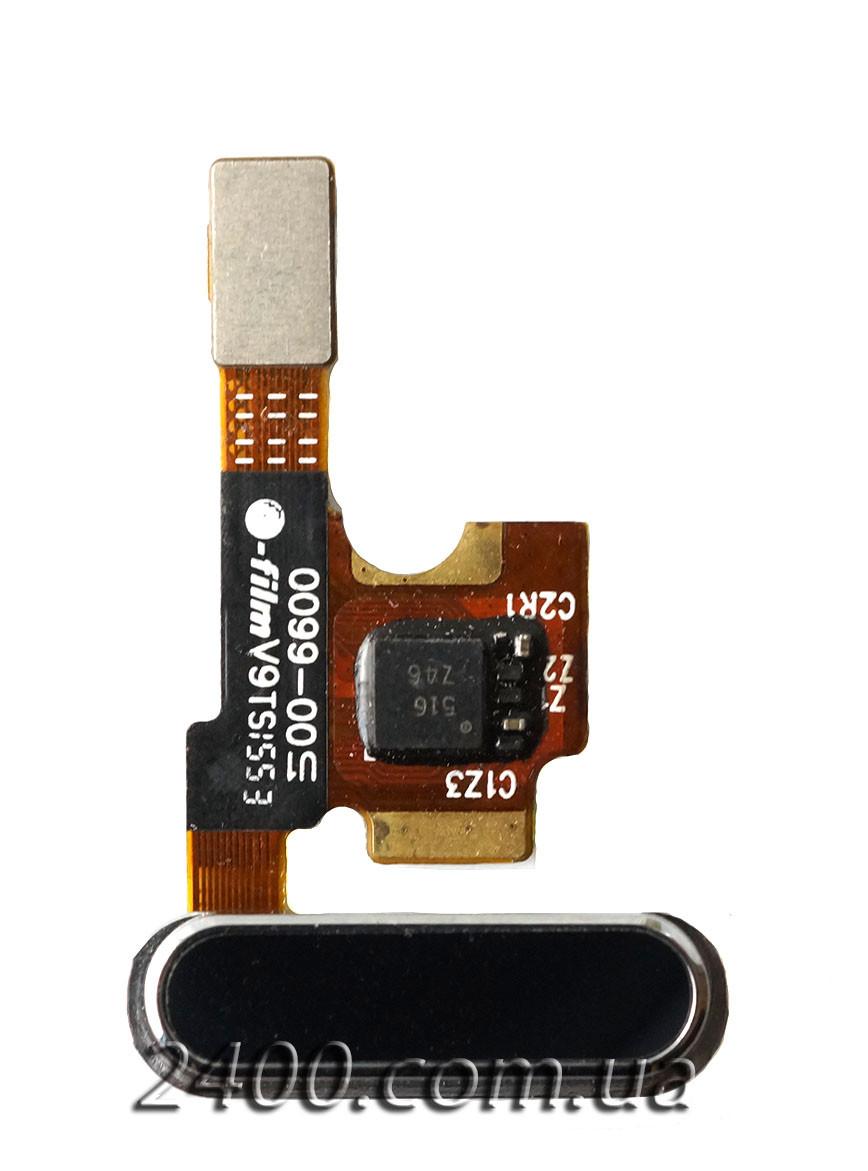 Cенсорная кнопка для Xiaomi Mi5 черная – кнопка меню