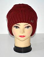 Зимняя шапка женская на девушку 52-54