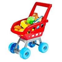 Тележка 668-06 (Красная) супермаркет