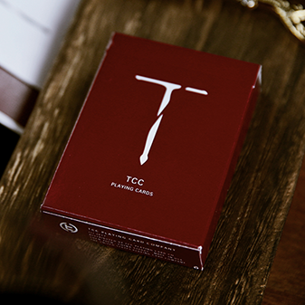 Карты игральные   New T Playing Cards (Red)