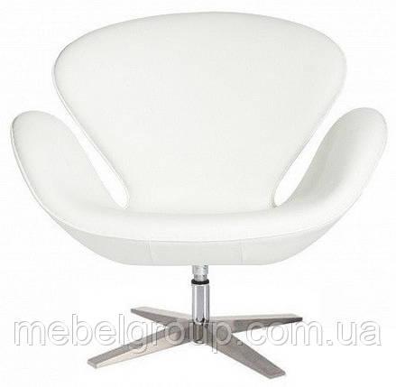 Крісло м'яке СВ біле, фото 2