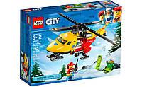 Конструктор LEGO City Вертолёт скорой помощи 190 деталей