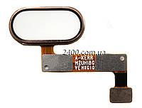 Сенсорна кнопка Meizu M5 Note – шлейф кнопки meizu m 5 note + сенсорна кнопка Мейзу М5 Ноті золота