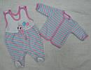 Комплект велюровый для девочки Гусеничка (Nicol, Польша), фото 2