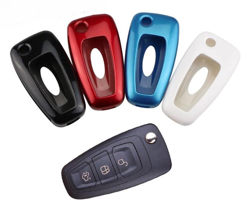 Пластиковый чехол для ключа Ford fiesta,B/C/S-max,Focus,Kuga,Edge,Mondeo, Mustang,F150,fusion,Explorer,Taurus