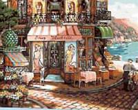 """Картина по номерам  """"Магазин в старом городе"""" 40*50см, фото 1"""