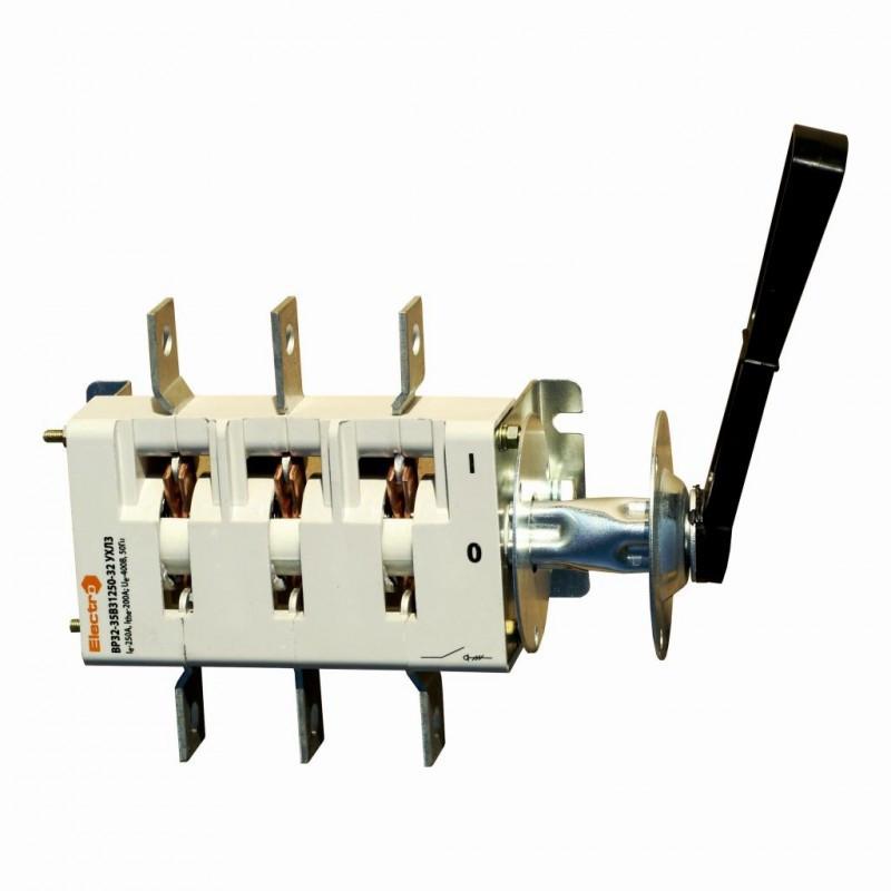 Выключатель-разъединитель ВР32, разрывной, с камерой 250 А (Разрывной рубильник)