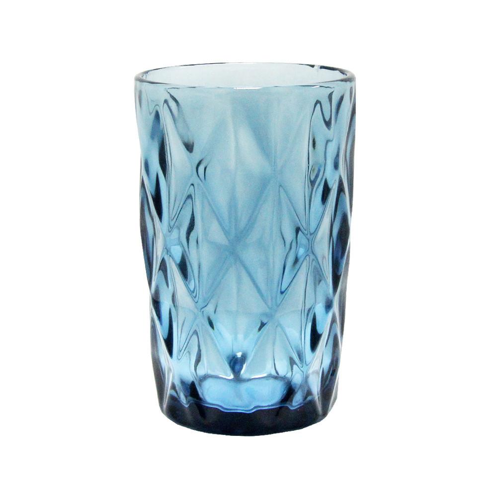 """Набор стаканов 6 шт """"Изумруд"""" синих 300 мл,  34215-11-3"""