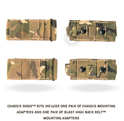 Переходник Crye Precision Chassis StKSS Adapter, Multicam