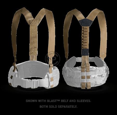 Подтяжки Crye Precision Suspenders, Coyote