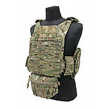Подсумок Tactical Tailor Plate Carrier Lower Accessory Pouch, Multicam, фото 2
