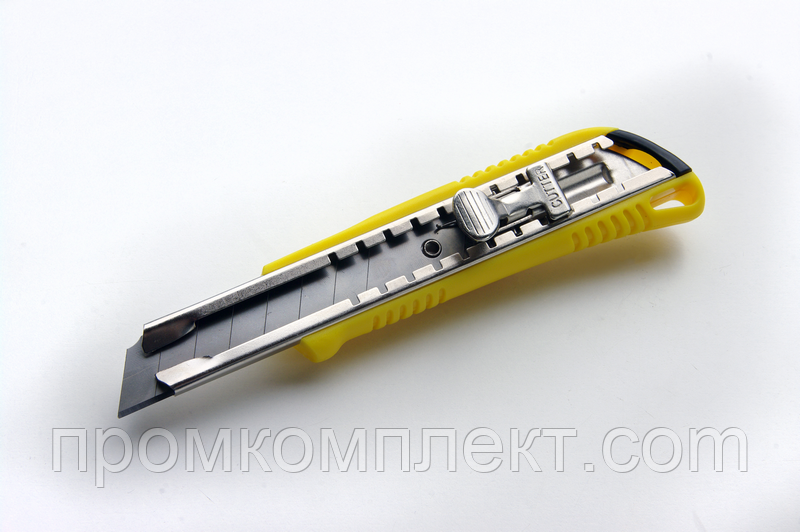 Нож выдвижной 18мм металлический замок ShiftLock
