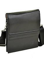 Сумка Мужская Планшет кожаный BRETTON BE 5416-3 black, фото 1