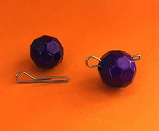 "Груз фиолетовый ""Fishball"" разборный (зип-пакеты)"
