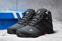 Зимние кроссовки на меху Adidas Climaproof, серые (30765),  [  42 43  ]