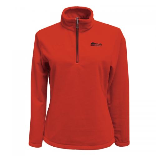 Женский пуловер Tramp Ая Красный/Серый (TRWF-002)