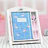 Блокнот и ручка Фламинго в подарочной упаковке, фото 5