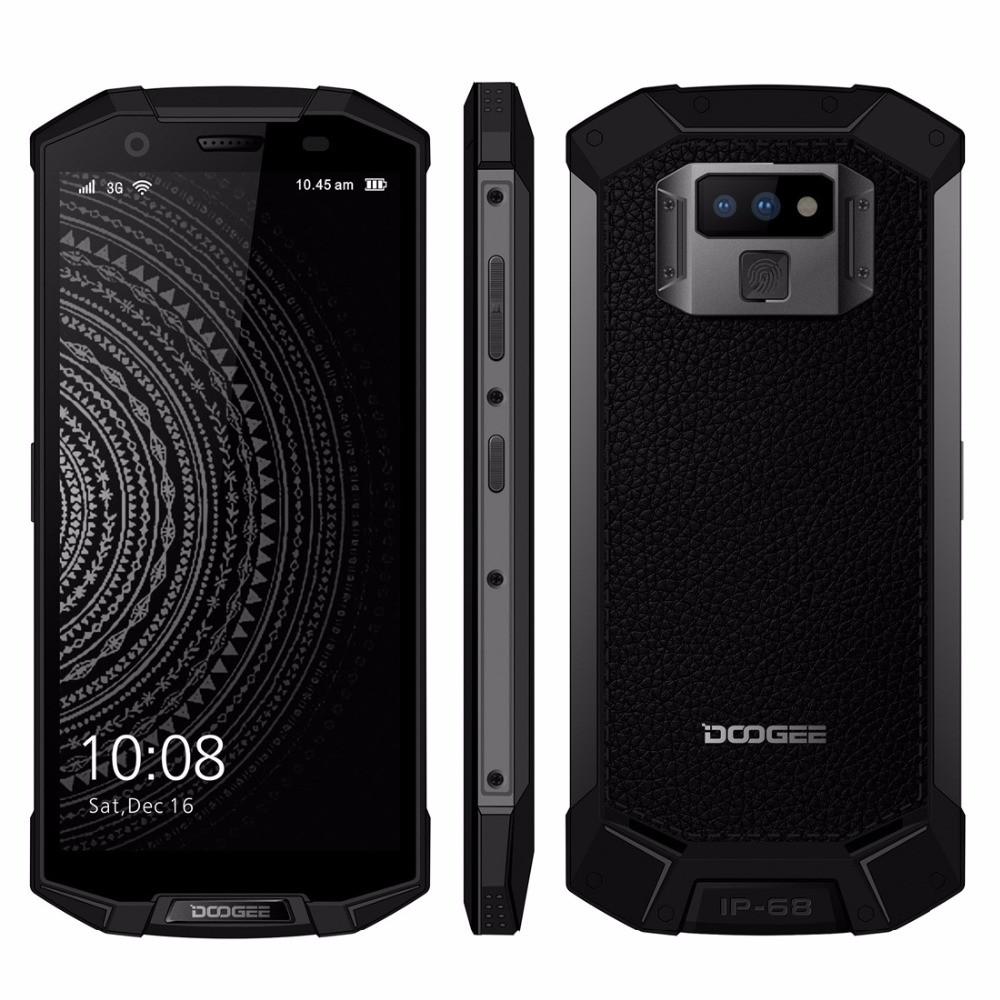 Защищенный смартфон Doogee S70 6/64gb Mineral Black Mediatek Helio P23 5500 мАч