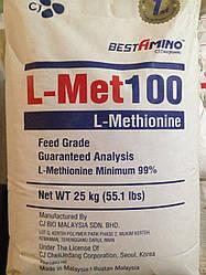 Метионин кормовий L 100% (фасовка 25 кг)