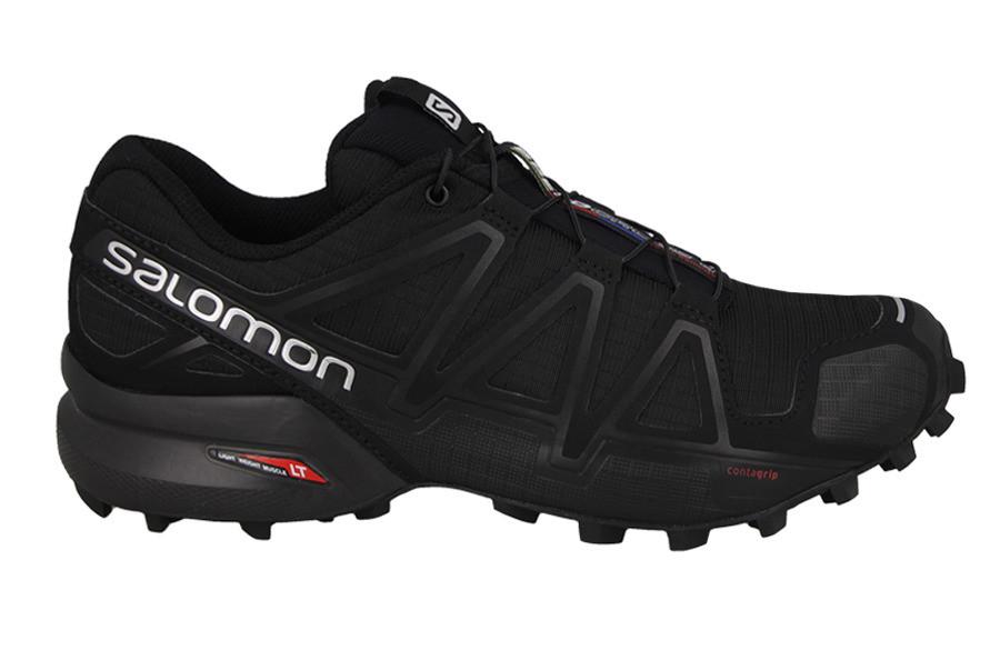 Мужские кроссовки SALOMON SPEEDCROSS 4 (383130) черные