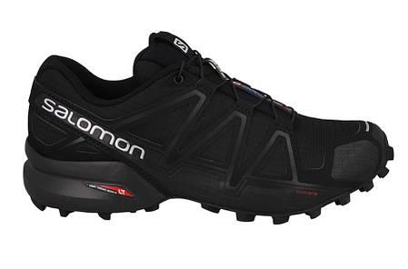 Мужские кроссовки SALOMON SPEEDCROSS 4 (383130) черные, фото 2