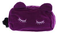 Косметичка спящий кот (фиолетовая), фото 1