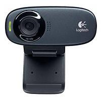 Веб-камера 0.9Мп з мікрофоном Logitech C310 HD Black, фото 1