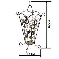 Кованая подставка для зонтов 5, фото 1