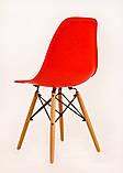 Стілець Nik Eames, червоний, фото 3