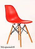 Стілець Nik Eames, червоний, фото 2