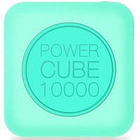 Додатковий акумулятор 10000 mAh Mipow Power Cube Light Blue (SP10000-LB)