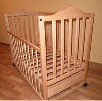 Sonno KR-300 с ящиком цвет натуральный детская кроватка