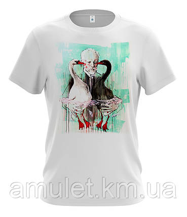 "Чоловіча молодіжна футболка ""Гуси"", фото 2"