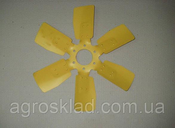Вентилятор МТЗ металлический 6 лопастной, фото 2