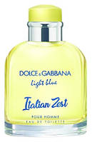 Оригинал Dolce Gabbana Light Blue Italian Zest Pour Homme 125ml Дольче Габбана Лайт Блю Италиан Зест Хом
