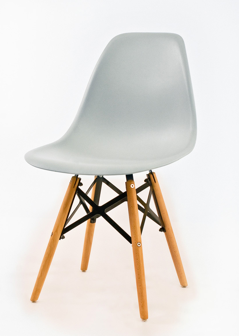 Стул Nik Strong Eames, светло-серый