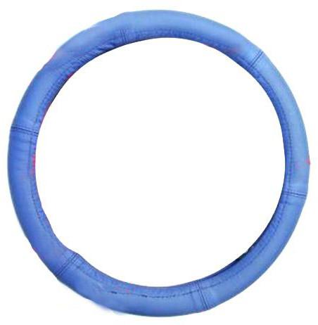"""Чехол на руль Elegant Maxi кожа """"премиум""""  голубой размер M 37-38 см  EL 105 172"""