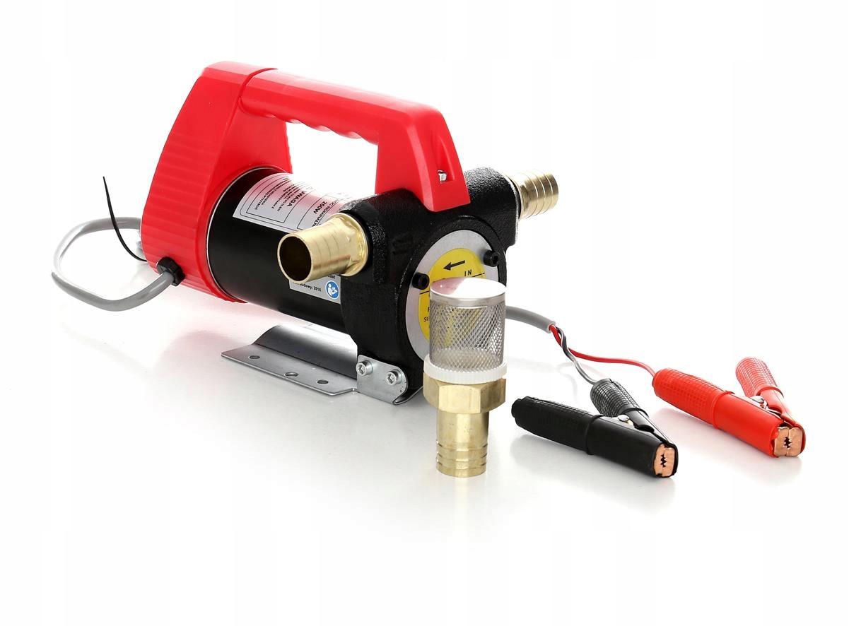 Насос для перекачки  топлива 12 Вт 55 л/мин Заправочная станция заправка