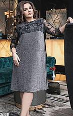 Нарядное вечернее женское платье размеры: 48-50, 52-54,56-58, фото 3