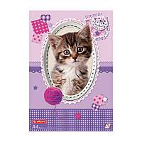 Альбом для рисования Herlitz A4 75л 70г Pretty Pets Cat (10089019C)