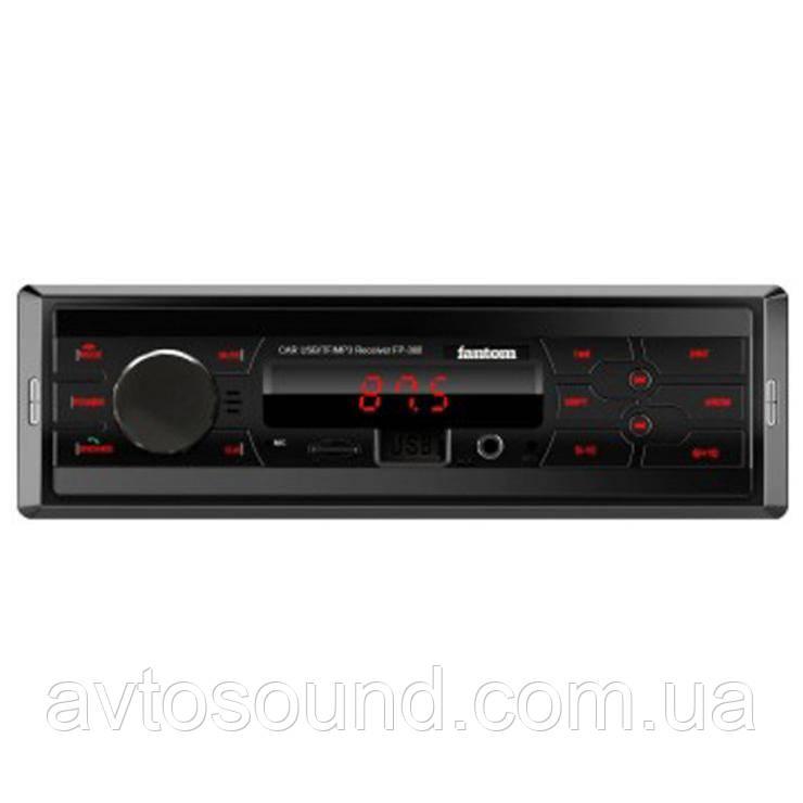 Автомагнитола Fantom FP-380 Black/Red
